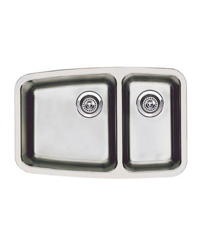 "Blanco Performa Undermount Small 1-1/2"" Double Bowl Sink"