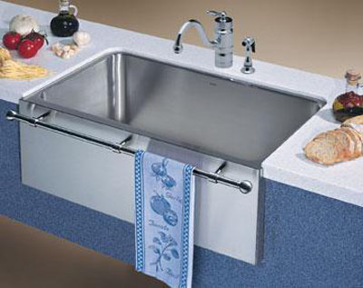Kitchen Sinks Blanco Magnum Undermount 30 Large Single Bowl With A