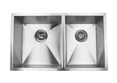 Suneli F3219BL Undermount Double Bowl Stainless Steel Sink