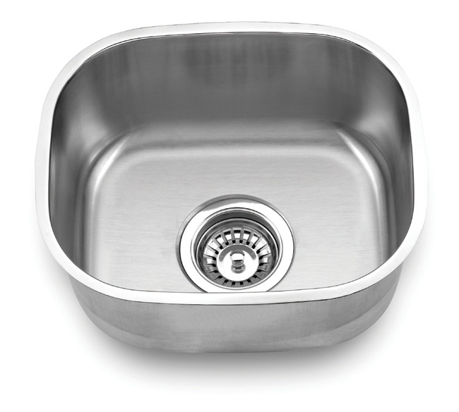 Fontaine Stainless Steel Wide Undermount Bar Sink