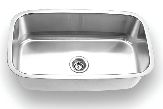 Fontaine Stainless Steel Large Rectangle Undermount Kitchen Sink