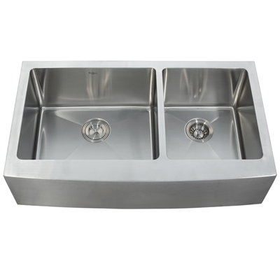 Stainless Steel Double Bowl Farmhouse Sink : Stainless Sinks Stainless Steel Sinks StainlessSteelSinks.org