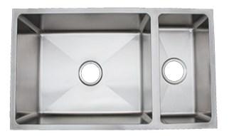 Urban Place R-ZS-200 Radial Rendition Undermount Kitchen Sink