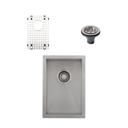 Ticor S3610 Undermount 16-Gauge Stainless Steel Kitchen Sink + Accessories
