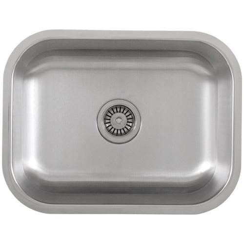 Ticor S505 Undermount 16 G Stainless Steel Single Bowl Kitchen Sink + Accessories