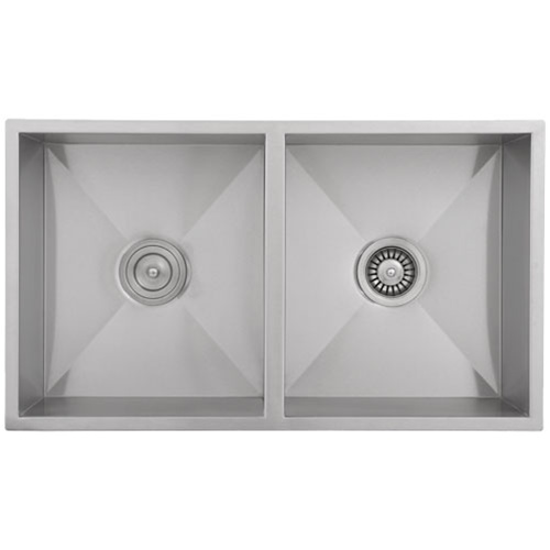 Ticor S6501 Undermount 16-Gauge Stainless Steel Kitchen Sink With Free Basket Strainer & Deluxe Strainer