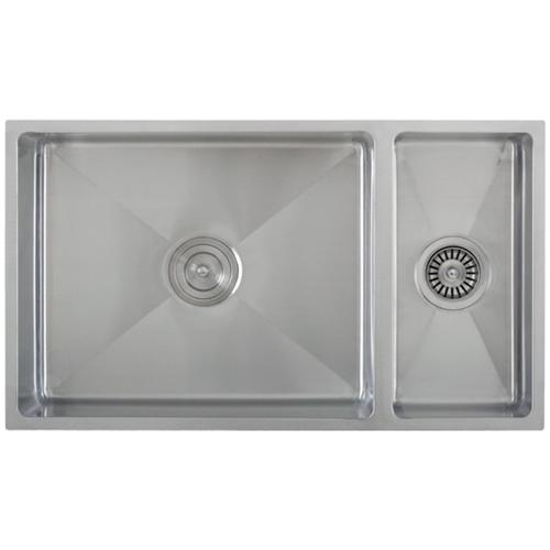 Ticor Sinks : Ticor S6512 Undermount 16-G Tight Radius Stainless Steel Kitchen Sink ...