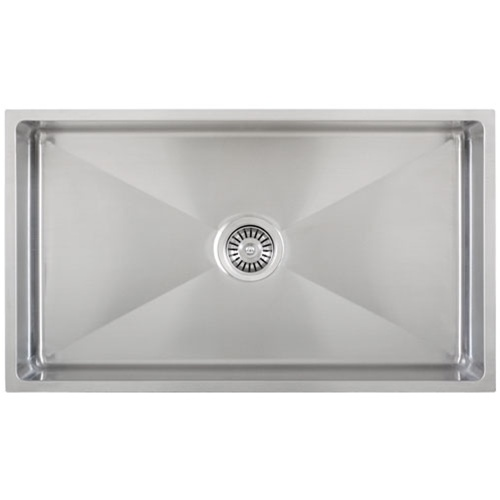 Ticor S6513 Undermount 16 G Tight Radius Stainless Steel Kitchen Sink ...