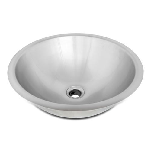 Ticor Sinks : ... Bowl Sinks / Ticor S710 Undermount Stainless Steel Round Bathroom Sink