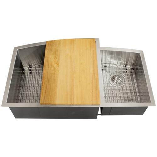 Ticor TR2200 Undermount 16-Gauge Stainless Steel Kitchen Sink + Accessories