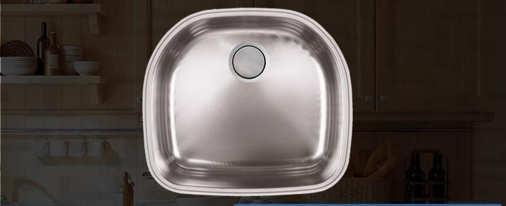 C-Tech Attalia VLS-581s Dara- Kitchen Sink