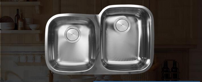 C-Tech Attalia VLS-803d/4060 Isa- Kitchen Sink