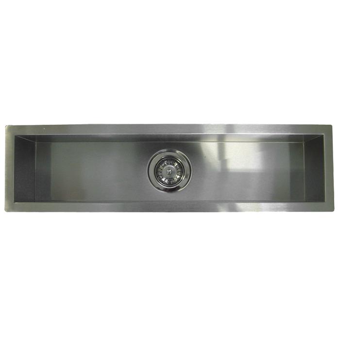 """42"""" Stainless Steel Undermount Kitchen Bar Sink WC12S4208"""