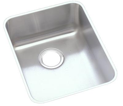 Elkay 14x18 Undermount Single Bowl Sink SS ELU1418