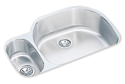 Elkay 32x21 Undermount Double Bowl Sink ELUH3221L