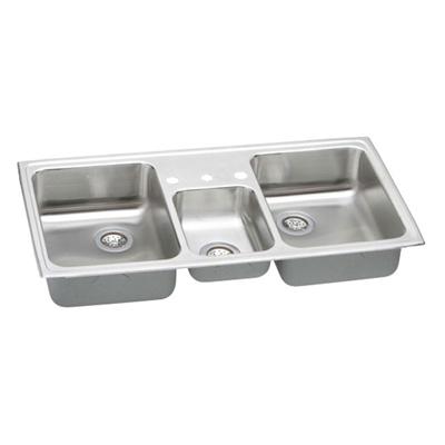 Elkay Pacemaker 33x22 Triple Bowl Sink PSMR43223