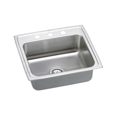 Elkay Pacemaker 22x19 3 Hole Single Bowl Sink PSR22193