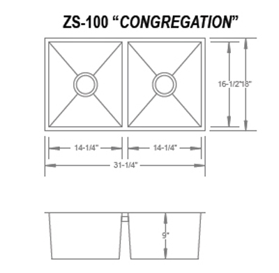 GRIDS SET ONLY for the Urban Place Congregation ZS-100