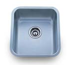 Delta Rectangle Single Bowl Undermount Stainless Steel Sink 18 Gauge DL865