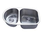 C-Tech-I Linea Imperiale Capraia LI-200-SD Double Bowl Stainless Steel Sink