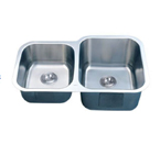 C-Tech-I Linea Imperiale Dalmacia LI-300-D Double Bowl Stainless Steel Sink