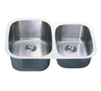 C-Tech-I Linea Imperiale Garda LI-300-S Double Bowl Stainless Steel Sink
