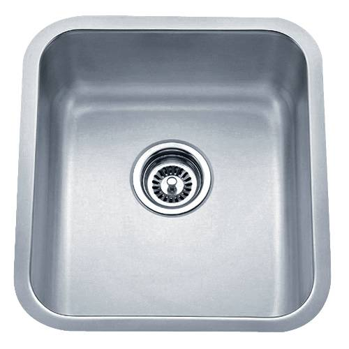 Wells Sinkware 18 Gauge Undermount Single Bowl Stainless Steel Kitchen Sink SSU1618-8