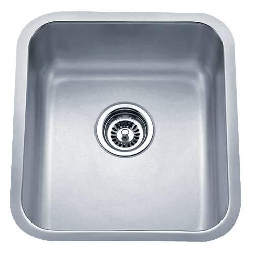 Wells Sinkware 18 Gauge Undermount Single Bowl Stainless Steel Kitchen Sink SSU1618-8