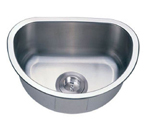 C-Tech-I Linea Imperiale Tremiti LI-900 Single Bowl Stainless Steel Sink