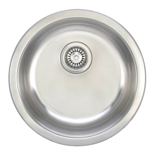 Wells Sinkware 18 Gauge Single Bowl Undermount Stainless Steel Kitchen/ Bar Sink Package JZU1919-8-1