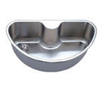 C-Tech-I Linea Imperiale Imperio LI-1000 Single Bowl Stainless Steel Sink