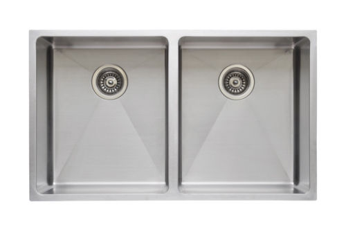 Wells Sinkware Commercial Grade 16 Gauge Handcrafted Single Bowl Undermount Stainless Steel Kitchen Sink Package CSU3220-10-1