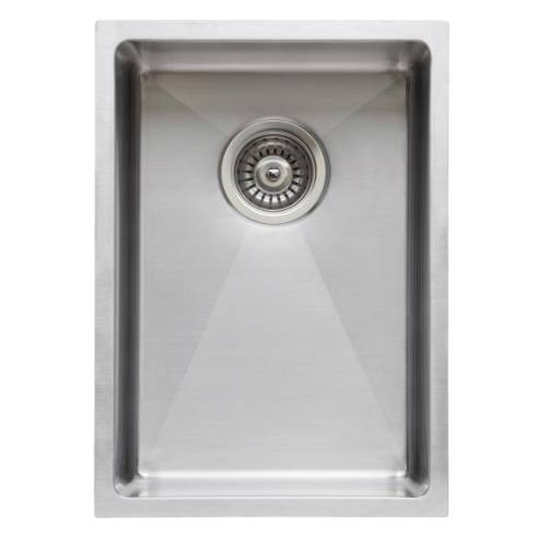 Wells Sinkware Commercial Grade 16 Gauge Handcrafted Single Bowl Undermount Stainless Steel Kitchen Sink CSU1420-7