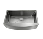 C-Tech-I Linea Amano Miranda LI-1100 Single Bowl Stainless Steel Sink