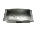 C-Tech-I Linea Amano Lodi LI-1400 Single Bowl Stainless Steel Sink