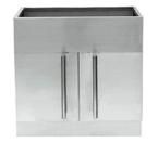 "C-Tech-I Linea Amano Asti LI-1415-CAB-3 Stainless Steel 36"" Cabinet Base"