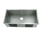 C-Tech-I Linea Amano Emilia LI-1900 Single Bowl Stainless Steel Sink