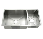 C-Tech-I Linea Amano Molino LI-2100 Double Bowl Stainless Steel Sink