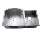C-Tech-I Linea Amano Murlo LI-2200 Double Bowl Stainless Steel Sink