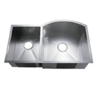 C-Tech-I Linea Amano Murlo LI-2200-D Double Bowl Stainless Steel Sink