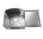 C-Tech-I Linea Amano Visso LI-2200-DB Double Bowl Stainless Steel Sink