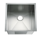 C-Tech-I Linea Amano Tirino LI-2700 Single Bowl Stainless Steel Sink