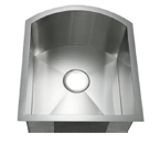 C-Tech-I Linea Amano Celenza LI-3000-S Single Bowl Stainless Steel Sink