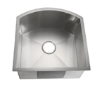 C-Tech-I Linea Amano Lenola LI-3000 Single Bowl Stainless Steel Sink