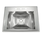 C-Tech-I Linea Amano Alliste LI-SV-18 Stainless Steel Vanity Sink