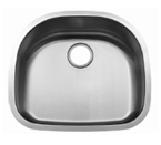 C-Tech-I Linea Beoni Cabo LI-UK-S300 Single Bowl Stainless Steel Sink