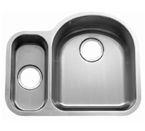 C-Tech-I Linea Beoni Valencia LI-UK-S400-D Double Bowl Stainless Steel Sink