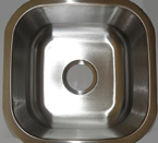 Mazi UB103 Undermount Single Bowl Stainless Steel Sink