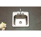 Houzer Hospitality Bar Sink 1515-6BS-1