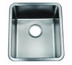 C-Tech-I Linea Zampina Lucida ZSR-400 Single Bowl Stainless Steel Sink